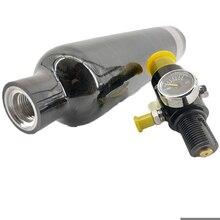 AC30561 0.5L 4500PSI PCP/Paintball Serbatoio per Tactical/Caccia/PCP Fucile Ad Aria Compressa/Condor Aria Compressa Ad Alta Pressione cilindro & Regolatore