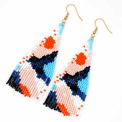 Go2boho Bohemian Earrings MIYUKI Earrings Women Colorful Boho Chic Delica Handmade Loom Woven Summer Beach Jewelry Insta Fashion