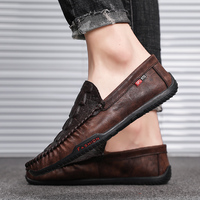 Beanie shoes male 2019 new Korean version of the trend of lazy people a pedal casual shoes spring wild personality shoes tide