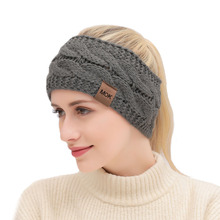Knitted Headband Hair-Accessories Warm 21-Colors Earmuffs Autumn Winter Ladies