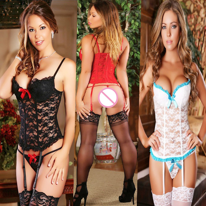 Porn Lace Sexy Lingerie Women Teddy Lenceria Sexy Mujer Sexi Babydoll Underwear Femme Hot Erotic Baby Dolls Dress Sexy Costumes