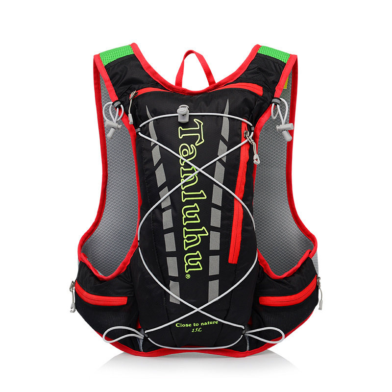 Cross Border Off-road Run Backpack Men And Women Ultra-Light Marathon Water Bag Vest Outdoor Sports Running 10L