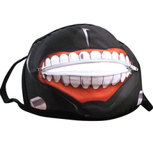 Washable Reusable Cotton dustproof Mask tokyo ghoul anime Printed zipp
