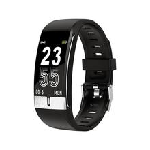 E66 с цветным смарт экраном браслет ЭКГ + ppg тест монитор здоровья