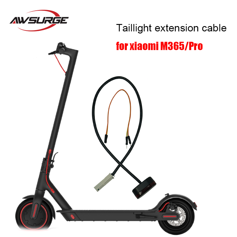 1pc electric scooter tail light extension cable for xiaomi M365/Pro electric scooter replacement parts