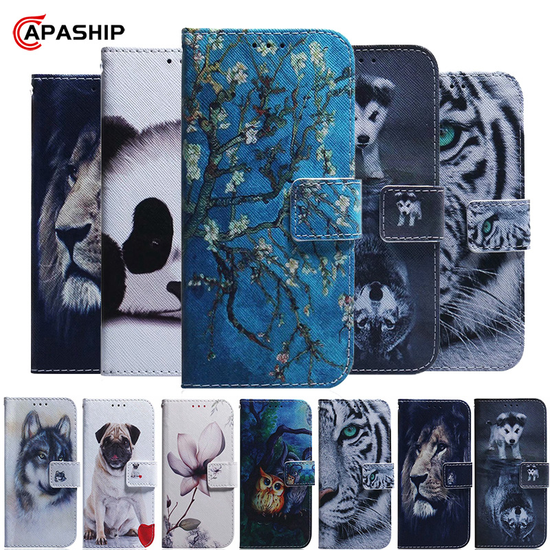 Cartoon Leather Flip Case For <font><b>Samsung</b></font> Galaxy <font><b>A10S</b></font> A20S A30S A40 A50 A60 A70 A51 A71 Cover Magnetic Wallet Cases A7 A9 Capa <font><b>Coque</b></font> image