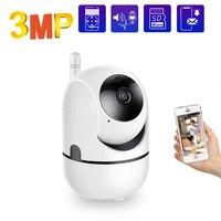 3mp Überwachung Kameras mit WiFi CCTV IP Kamera WiFi mini Kamera Baby Monitor Video Recorder Smart Home Vollen HD 1080P