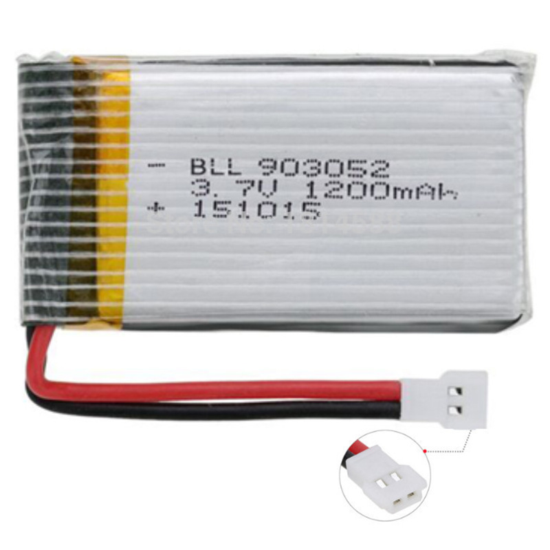 3.7V 1200Mah 25C Lipo Battery For Syma X5 X5C X5Sw X5Sc X5S X5Sc-1 M18 H5P Rc Quadcopter 1200Mah 903052 3.7V Battery For Syma #8