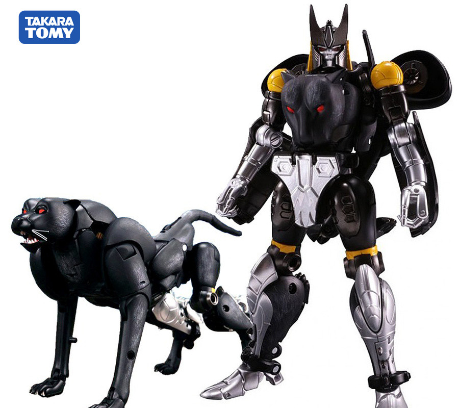 TAKARA TOMY TKR Action Figure Toy MP-34S Mp34s Black Panther Commander Beast Wars BW Shadow Leopard Transformation Deformation