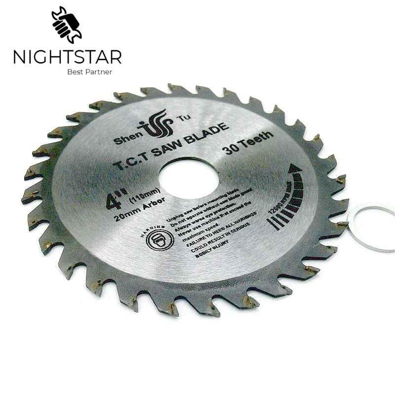 4 Inch Circular Saw Blades Tungsten Steel Alloy Saw Blades For Wood Aluminum Cutting 110mm TCT Saw Blades   /40Teeth /30Teeth