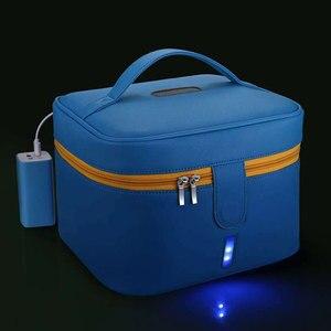 УФ коробка для хранения УФ стерилизатор сумка светодиодный сумка для дезинфекции контейнер органайзер для детских принадлежностей игрушк...