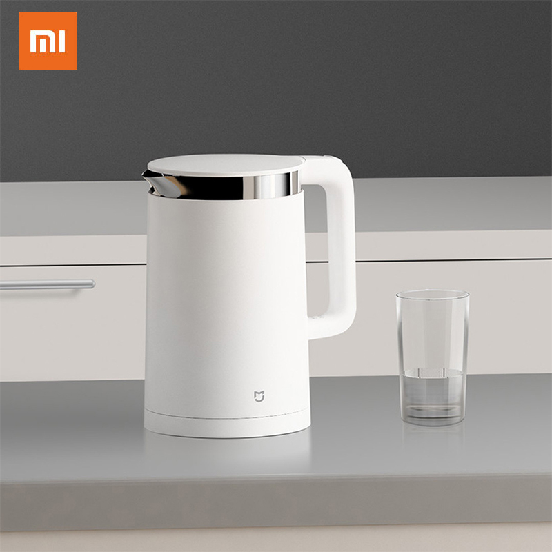 Xiaomi Mijia Electric Kettle Smart Constant Temperature Control Kitchen Water Kettle 1.5L  Pot Stainless Steel App Control