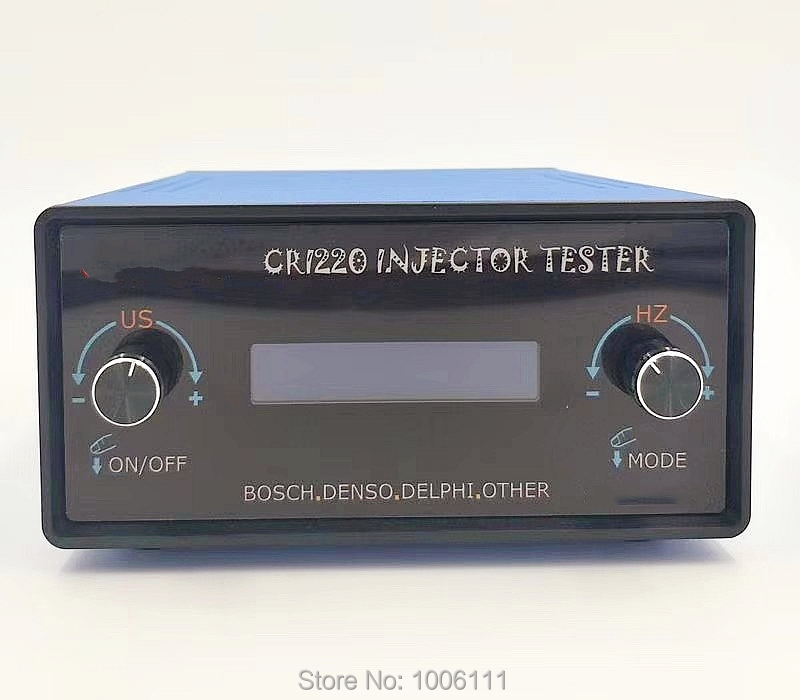 FÜR BOSCH DENSO DELPHI AM-CRI230 Common-rail-injektor Reparatur Simulator Tester Mit Dynamische Hub AHE Reise Test Funktion