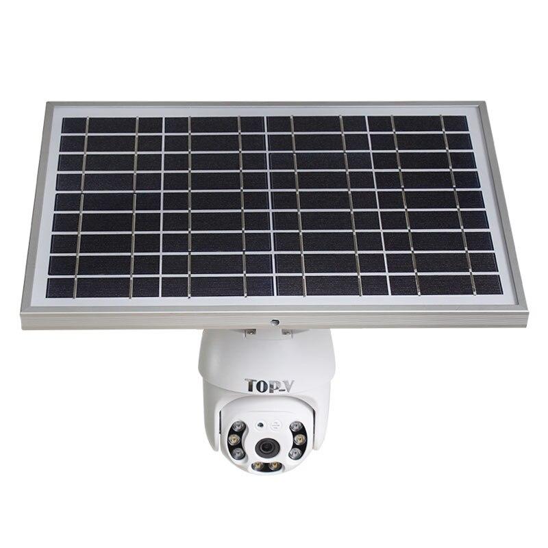 Mais novo 1080 p solar 4g inteligente câmera de detecção humana à prova dwaterproof água nuvem ptz câmera