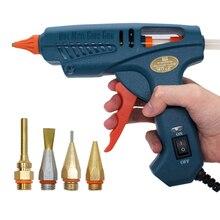 Hot Melt Glue Gun 50W/150W 100W Copper Nozzle for 11mm Glue Sticks Home Craft DIY Adhesive Hot Gun Tool Bag