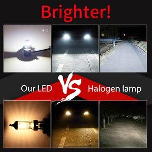 Image 3 - BraveWAY רכב אורות H4 LED H7 16000LM H1 H3 H8 H11 LED Atuo מנורה לרכב פנס נורות HB3 HB4 9005 9006 טורבו LED נורות 12V לדים לרכב