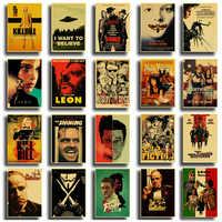 Классический постер для фильма, винтажный знак олова, Декор, железная живопись, кино, прищепка, наклейки, металлическая пластина, таблички, С...