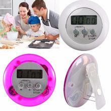 Minuterie de cuisine numérique Lcd, compte à rebours, compte à rebours circulaire, pour l'étude des minutes médicales, rappel, alarme