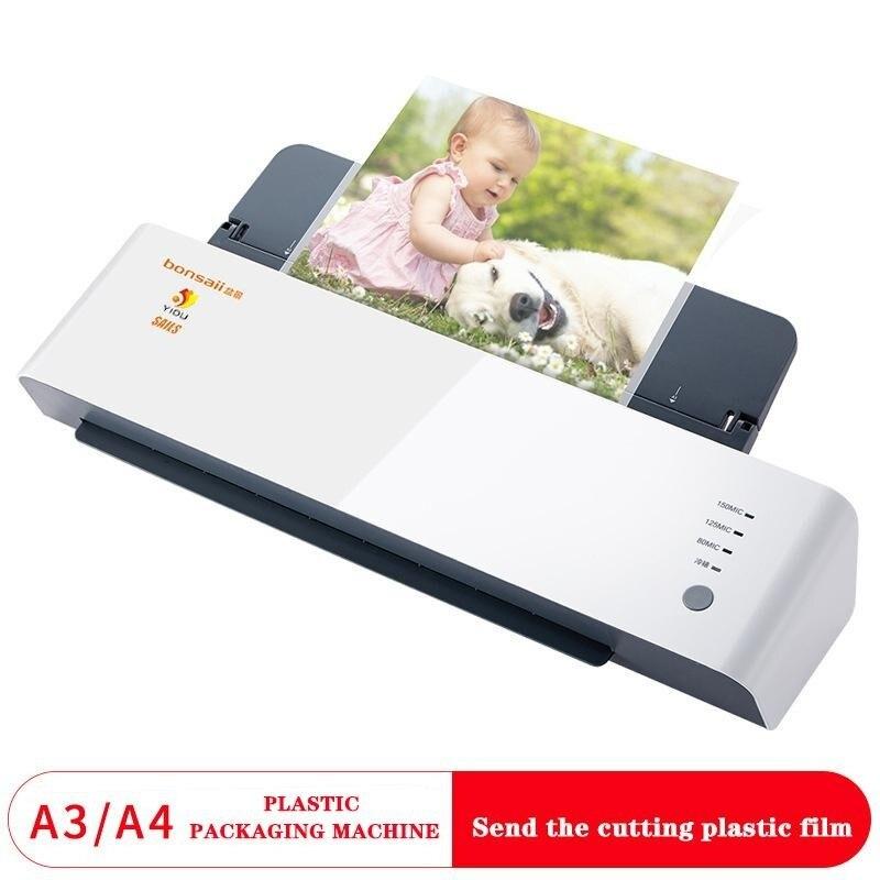 Qianfan & bonsaï l418 machine en plastique A3/A4 machine en plastique photo machine à plastifier bureau en plastique photo machine en plastique