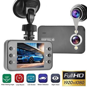 "2.2"" Car DVR Dash Camera Full HD 1080P Loop Recording Motion Detection Drive Recorder Wide Angle Night Vision Dashcam Registrar(China)"