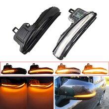 LED דינמי הפעל אות אור סדרתית צד מראה חיווי עבור טויוטה Alphard Vellfire RAV4 XA50 2019 2020 הנצח 2020