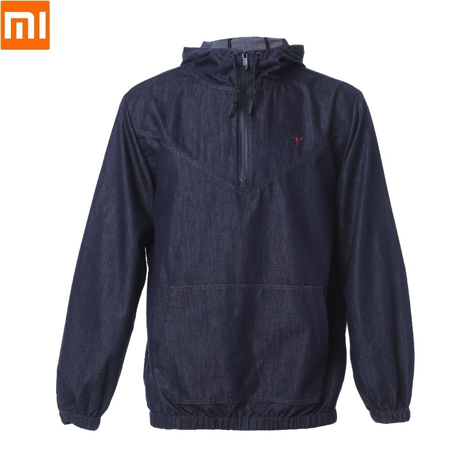 Xiaomi  DMN Light Cloud Soft Stretch Cowboy Man Sweater Refreshing And Breathable Spring Autumn Casual Jacket Men Cotton Coat