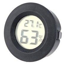 ЖК-цифровой термометр Мини ЖК-цифровой термометр гигрометр холодильник тестер морозильника датчик измерителя температуры и влажности