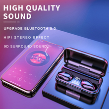T11TWS Wireless Headphones Bluetooth 5.0 In-ear Earphone Stereo Earbuds Sport Waterproof Gaming Noise Reduction Headset With Mic baseus s09 bluetooth headphones bass stereo wireless earphone ear buds waterproof sport headset cvc noise cancelling mic earbuds