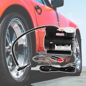Image 3 - DC 12 V 300 PSI ضاغط هواء محمول سيارة منفاخ كهربائي منفاخ إطارات ل سيارة دراجة نارية الدراجات سيارة كهربائية ATV شاحنة الخ