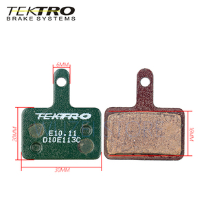Image 5 - Tektro E10.11 mtbブレーキパッド山道折りたたみ自転車用ディスクブレーキパッドシマノMT200/M355//M395/m415/M285/M286/M280