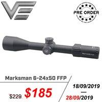 Vector Optics Marksman 6 24x50 FFP Tactical Scope Min 10Yds Focus 1/10MIL Adjustment Shooting Hunting Riflescope Shock Proof