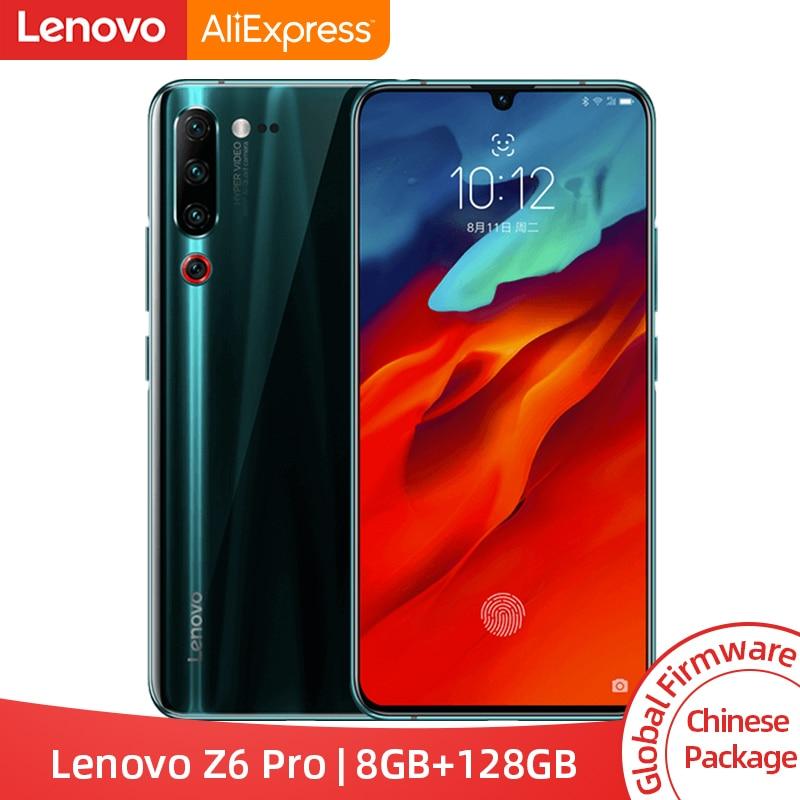 "Original Global ROM Lenovo Z6 Pro 8GB 128GB Snapdragon 855 Octa Core 6.39"" FHD Display Smartphone Rear 48MP Quad Cameras"