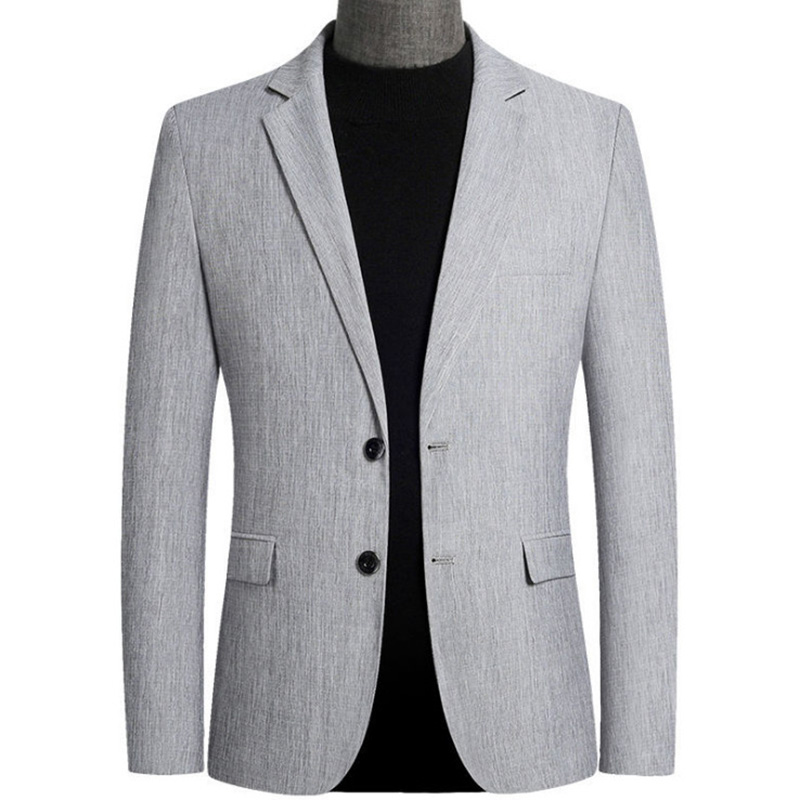 Spring Autumn Men Casual Blazer England Style Slim Fit Formal Men's Suits Host Wedding Party Men Jackets Blazers