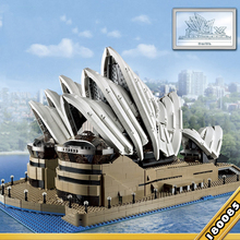 88003 Expert Set Creator Sydney Opera House Compatible 10234 Building Blocks Bricks Birthday Birthday Christmas Gifts Toys