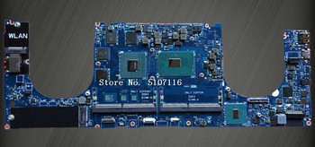 High quality laptop motherboard for XPS 15 9560 CN-0YV12N LA-E331P YV12N will test before shipping