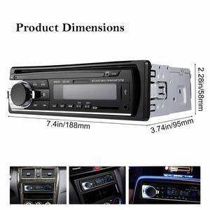 1 DIN автомобильный Радио автомобильный аудио FM Bluetooth MP3 аудио плеер Bluetooth Мобильный Телефон Handfree USB/SD автомобильный стерео радио в тире Aux вход