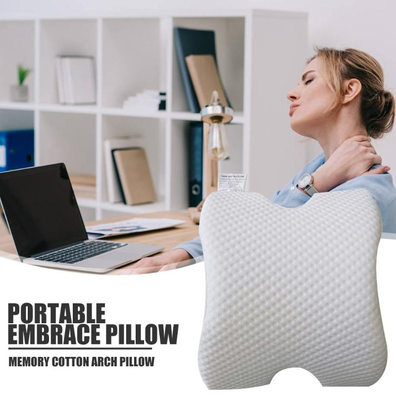 New Design Memory Foam Couple Sleep Pillow Memory Slow Rebound Pressure Pillow New Anti-Hand paralysis Pillow for Outdoor Travel