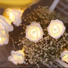 СВЕТОДИОДНАЯ Гирлянда в виде розы 3 м 20 светодиодов
