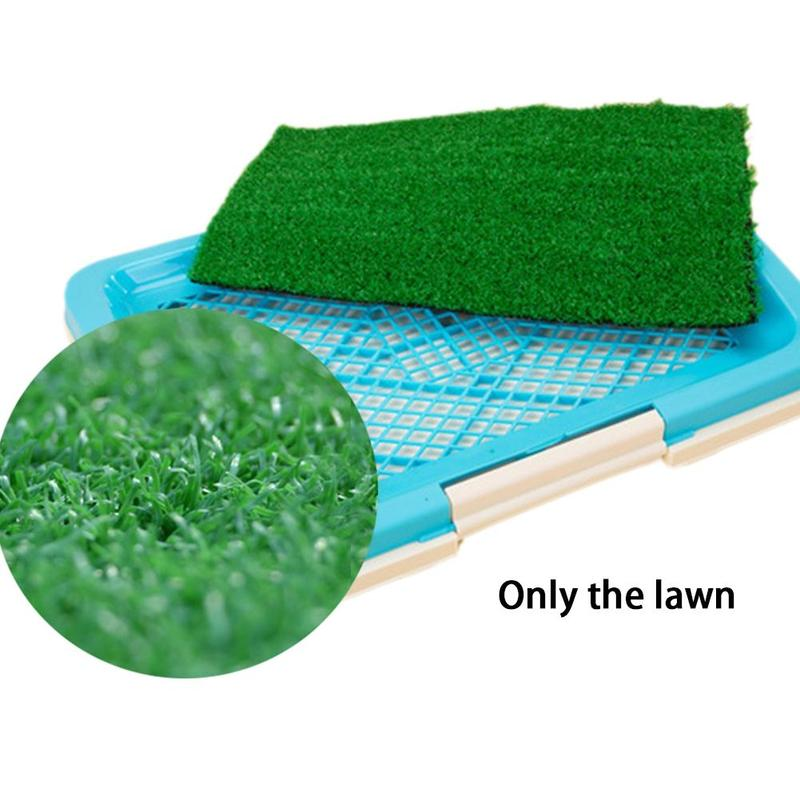 Dog Potty Training Pee Pad for Puppies and Other Small pets in Simulation Lawn Design 8