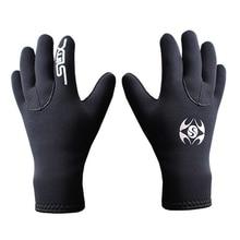 Горячие Sele Fisher мужские зимние теплые перчатки для дайвинга 3 мм Мужские и женские перчатки для дайвинга Подводная охота с дыхательной трубкой для плавания