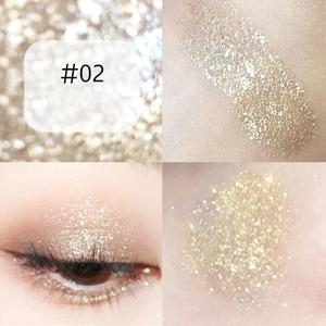 Liquid Colorful Glitter Eyeshadow Diamond Eye Liner Gel Shimmer White Silver Pearlescent Metallic Shiny Makeup Cosmetics TSLM1