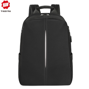 Tigernu 2019 New Fashion Backpack Men 4.0A USB Charging 15.6 inch Laptop Travel Bags Multifunction Male Female Schoolbags Casual