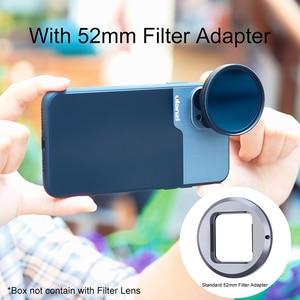 Image 3 - Ulanzi 1.33XT Anamorphic עדשת מסך רחב סרט Videomaker הבמאי עם 52mm מסנן מתאם עבור iOS iPhone 12 פרו מקסימום אנדרואיד