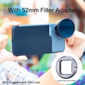 Image 3 - Анаморфный объектив Ulanzi 1,33xt, широкоформатный видеорегистратор с фильтром 52 мм, адаптер для iOS, iPhone 12 Pro Max, Android
