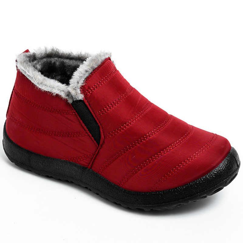 2019 Fashion Mannen Laarzen Winter Sneeuw Laarzen Outdoor Winter Schoenen Mannen Sneakers Plus Size Militaire Laarzen Waterdichte Schoenen Werkschoenen