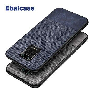 Перейти на Алиэкспресс и купить Чехол для Red mi Note 9 Pro, противоударный тканевый Мягкий силиконовый чехол для xiaomi mi 10, Red mi 10X, 5g, K20, 30, Note 9S, 8 T, 7 Pro Lite, чехол