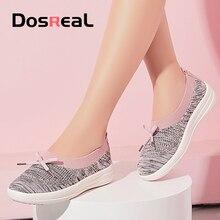 Dosreal Women Flats Shoes Air Mesh Sprin