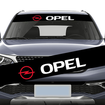 1pcs Car Front Back Window Stickers Auto Windshield Decal for Opel Astra H G J Insignia Mokka Zafira Corsa Vectra C D Logo Goods new yatour for opel astra h astra j corsa zafira vectra car mp3 player usb adapter sd aux bluetooth interface audio radio yt m06