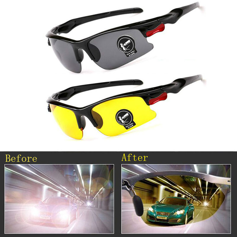 Driving Car Cars Driver Glasses Sunglasses Unisex HD Vision Polarized  Sun Glasses Eyewear UV Protection Night Vision Goggles