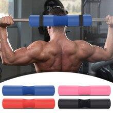 Prática agachamento espuma pescoço guarda manga esportes barra barbell almofada protetora durável multi-funcional equipamentos de fitness
